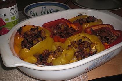 Paprika gefüllt mit Kartoffeln 16