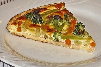 Gemüse - Quiche