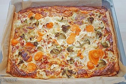 Gemüse - Quiche 24