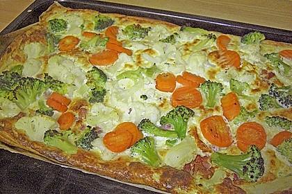 Gemüse - Quiche 17