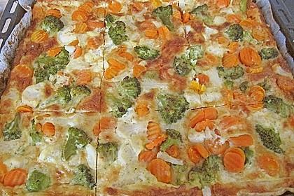 Gemüse - Quiche 20