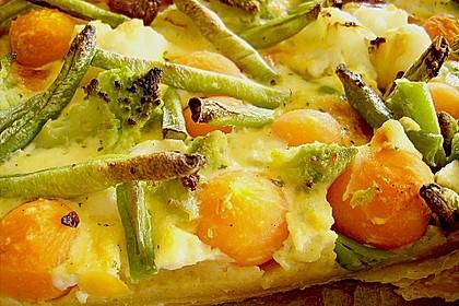 Gemüse - Quiche 26