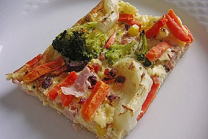 Gemüse - Quiche 6