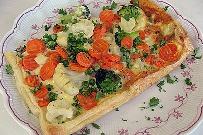 Gemüse - Quiche 1