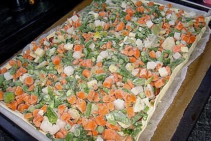 Gemüse - Quiche 28