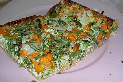 Gemüse - Quiche 10