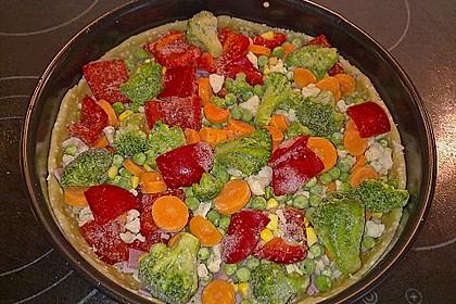 Gemüse - Quiche 9