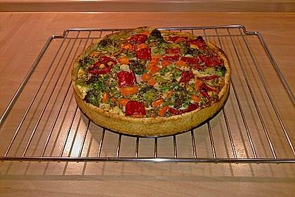Gemüse - Quiche 5