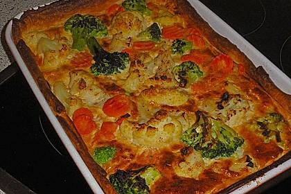 Gemüse - Quiche 16