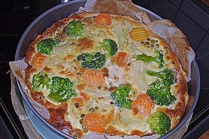 Gemüse - Quiche 12