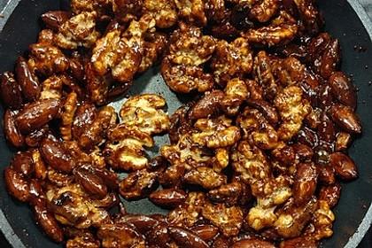 Gebrannte Mandeln mit wenig Zucker 43