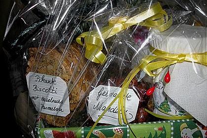 Gebrannte Mandeln mit wenig Zucker 44