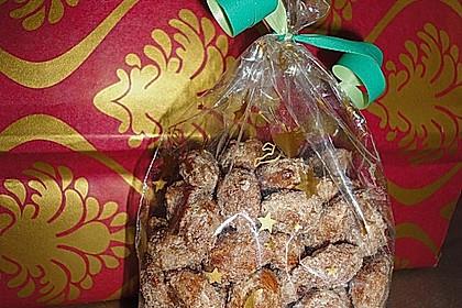 Gebrannte Mandeln mit wenig Zucker 10