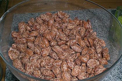 Gebrannte Mandeln mit wenig Zucker 17