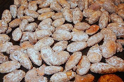 Gebrannte Mandeln mit wenig Zucker 26