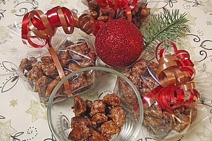 Gebrannte Mandeln mit wenig Zucker 3