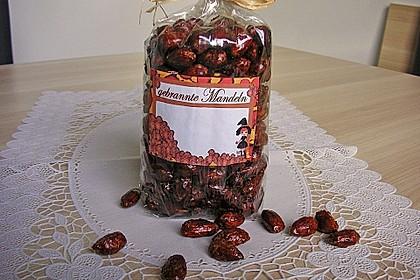 Gebrannte Mandeln mit wenig Zucker 5