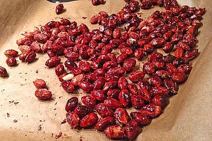 Gebrannte Mandeln mit wenig Zucker 42