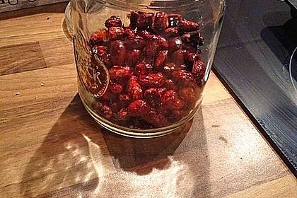 Gebrannte Mandeln mit wenig Zucker 40