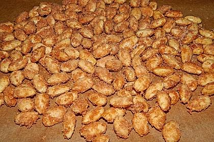 Gebrannte Mandeln mit wenig Zucker 36