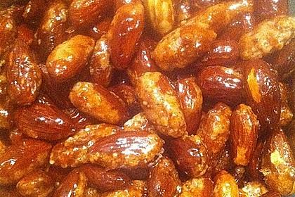 Gebrannte Mandeln mit wenig Zucker 58