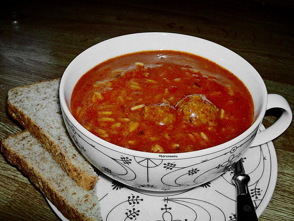 tomatensuppe aus tomatenmark rezept mit bild von b renmama. Black Bedroom Furniture Sets. Home Design Ideas