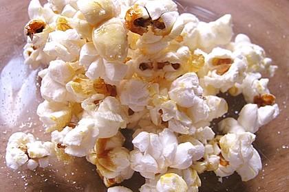 Süßes Popcorn aus der Mikrowelle