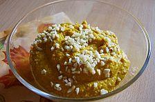 Kürbis - Grieß - Dessert