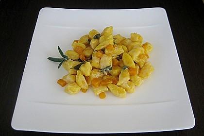 Kürbis - Gnocchi
