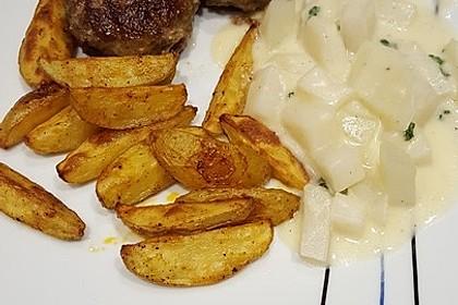 Fettarme Kartoffelspalten aus dem Ofen 48
