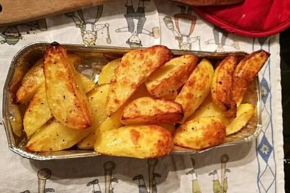 Fettarme Kartoffelspalten aus dem Ofen 23