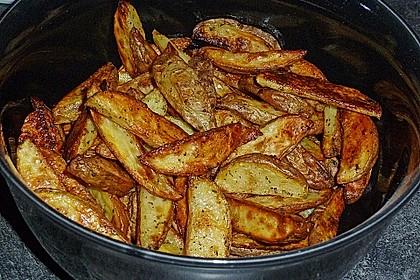 Fettarme Kartoffelspalten aus dem Ofen 26