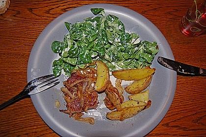 Fettarme Kartoffelspalten aus dem Ofen 75