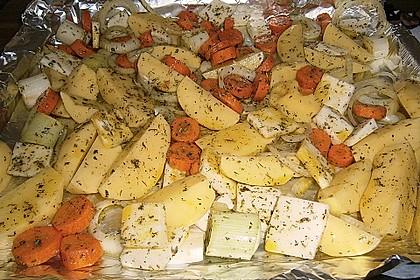 Fettarme Kartoffelspalten aus dem Ofen 84