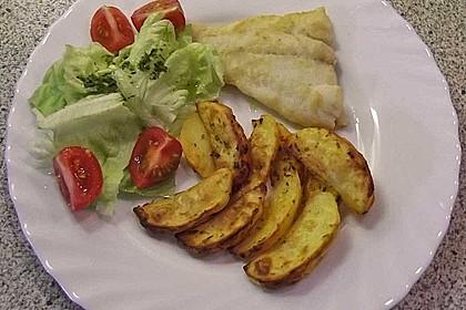 Fettarme Kartoffelspalten aus dem Ofen 25