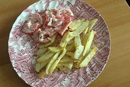 Fettarme Kartoffelspalten aus dem Ofen 82