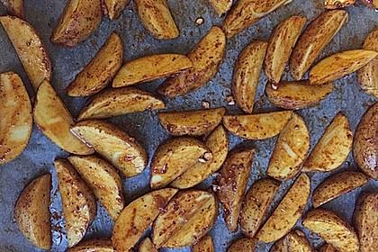 Fettarme Kartoffelspalten aus dem Ofen 72