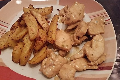 Fettarme Kartoffelspalten aus dem Ofen 56