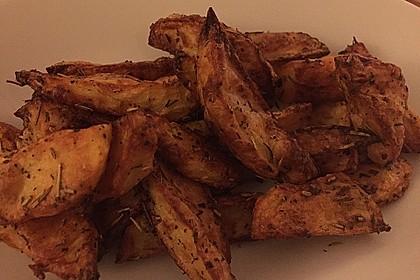 Fettarme Kartoffelspalten aus dem Ofen 28
