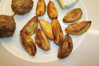 Fettarme Kartoffelspalten aus dem Ofen 55