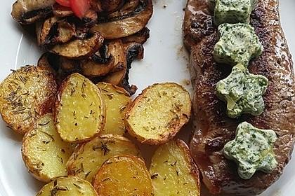 Fettarme Kartoffelspalten aus dem Ofen 68