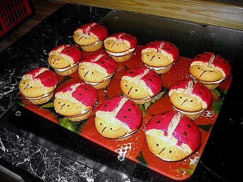 marienk fer muffins rezept mit bild von kartoffel 1. Black Bedroom Furniture Sets. Home Design Ideas