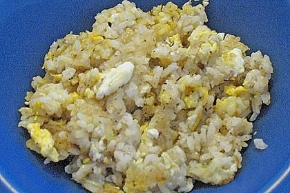 Gebratener Reis mit Ei 12