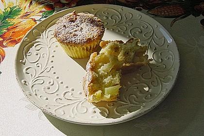 Apfelmuffins mit Zimtkruste 8