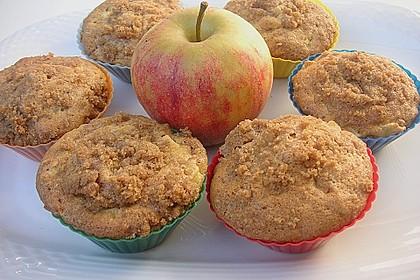 Apfelmuffins mit Zimtkruste 20