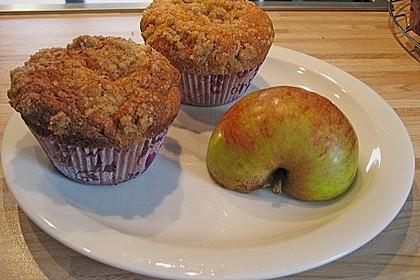 Apfelmuffins mit Zimtkruste 56