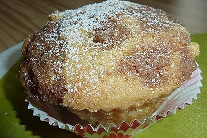 Apfelmuffins mit Zimtkruste 46