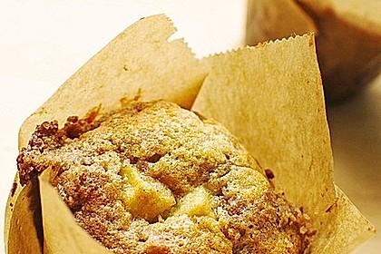 Apfelmuffins mit Zimtkruste 7