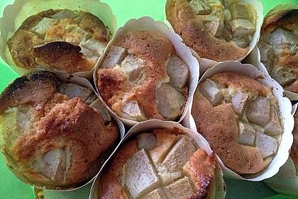 Apfelmuffins mit Zimtkruste 76