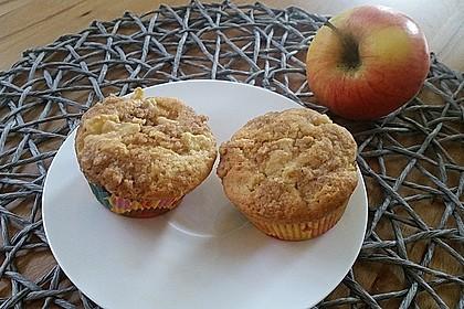 Apfelmuffins mit Zimtkruste 19